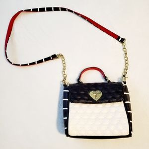 Betsey Johnson Quilted Crossbody Purse
